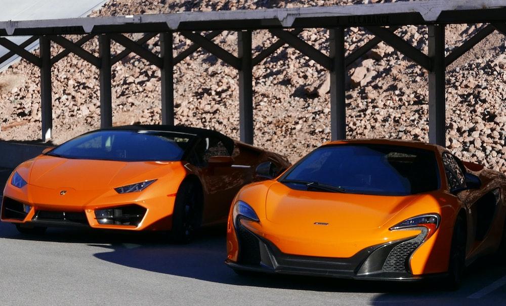 McLaren Rennstreckentraining